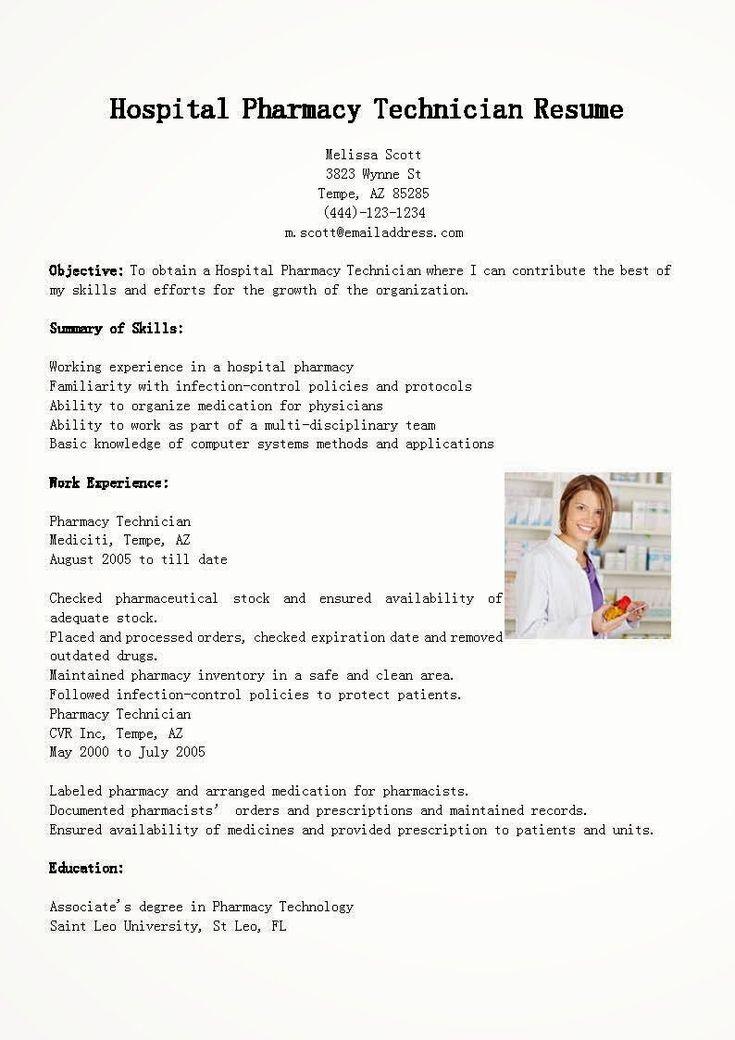 Pharmacy tech resume samples lovely resume samples
