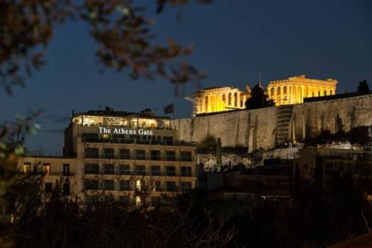Athens Gate hotel, in the historic heart of Athens.