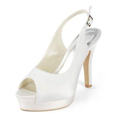 damesschoenen peep toe stiletto hak sandalen met gesp trouwschoenen meer kleuren beschikbaar - EUR € 49.99