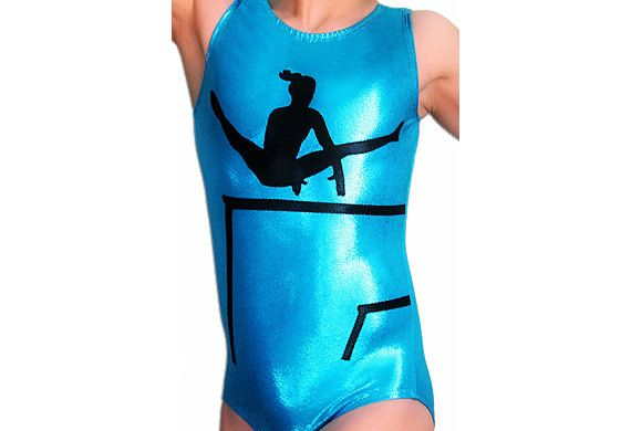 Gymnastics Leotards Girls Mystique UNEVEN BARS Leotard Gymnast Leotard cs cm cl axs as am al TURQUOISE Mystique