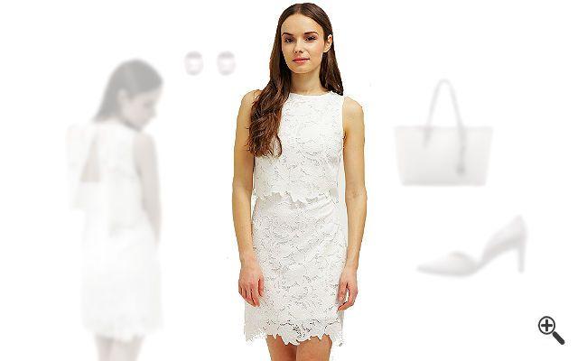 Weißes Cocktailkleid kombinieren + 3Weiße Outfits für Freya http://www.kleider-deal.de/weisses-cocktailkleid-kurz/ #Weiß #Cocktailkleider #Kleider #Dress #Outfit #White Für die Party ihrer besten Freundin suchte Freya ganz besondere weiße Outfits. Doch irgendwie fiel es ihr dieses Mal schwer, ein weißes Cocktailkleid in Kurz zu kombinieren. Sie schrieb mir und bat mich...