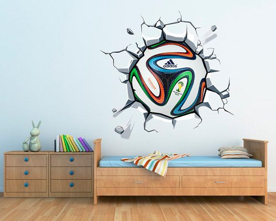 boys football soccer soccer bedroom stickers vinyls decals stickers
