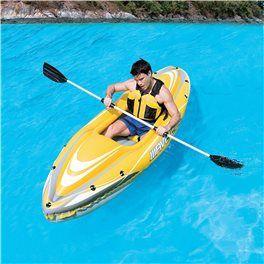 Ti segue nelle tue avventure in una comoda sacca il Kayak set, scopri tutto clicca