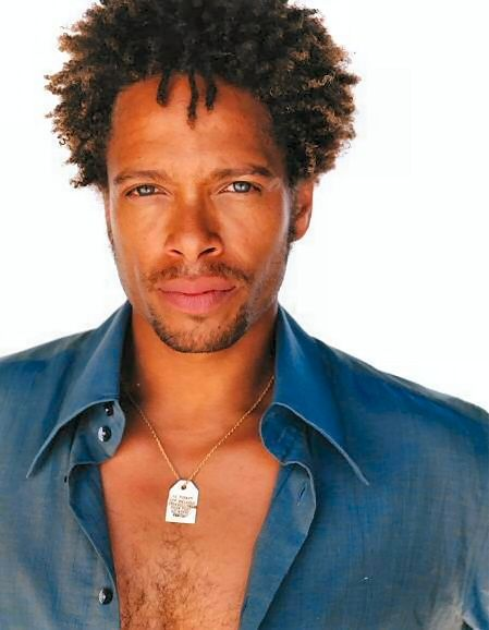 CSI: Gary Dourdan used to be beautiful before the whole meth addiction thing.