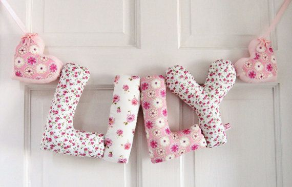 LILY Personalized Baby name wall hanging kids by kinderkraft