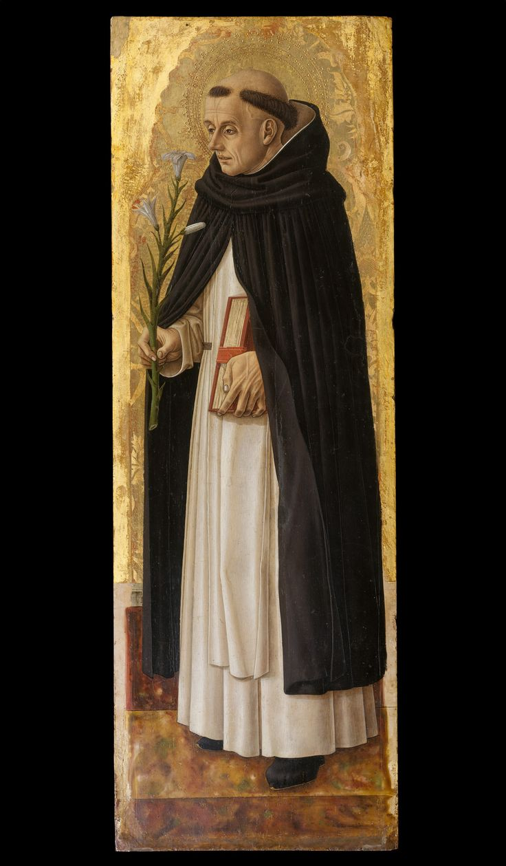 Saint Dominic / Santo Domingo // 1472 // Carlo Crivelli // © The Metropolitan Museum of Art