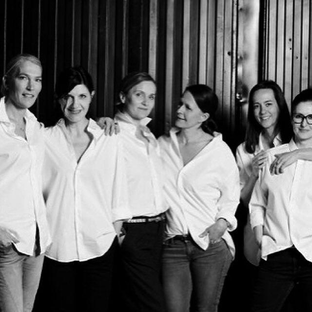 Berlin Bella's ************ #bella #bnw #whiteshirts #fashionphotography #group #studio #photoshoot #sensual