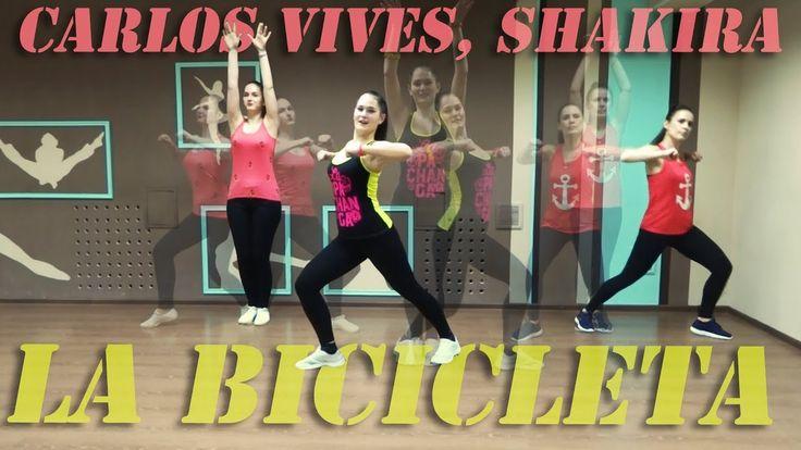 Carlos Vives and Shakira - La Bicicleta | Zumba Fitness with Irina