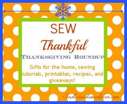 30 days of Thanksgiving gifts-Thanksgiving Roundup!  sewlicioushomedecor.com