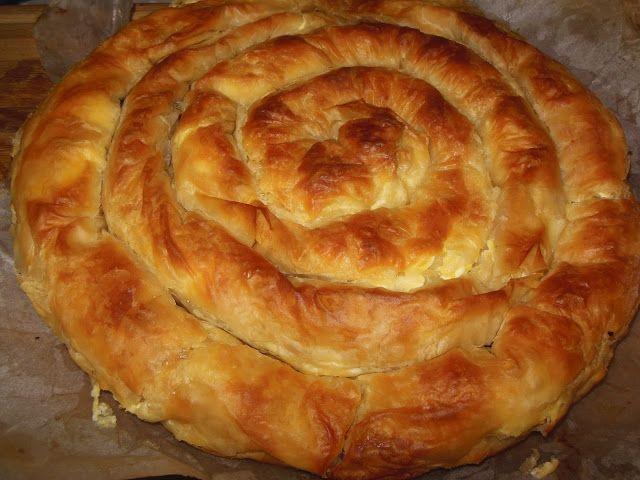 Щъркелово гнездо: Златиборска пита или една много вкусна баница!