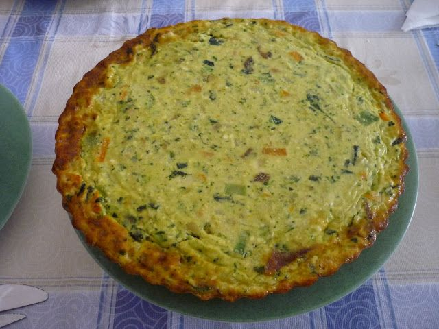 Winter Greens & Gruyere Tart With A Cornmeal Millet Crust Recipe ...