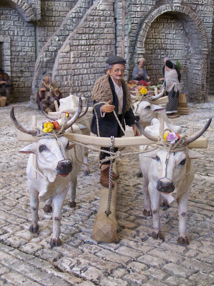 12 Days To Christmas 11of12 - Basilicata, Italy, Christmas Nativity, Presepe