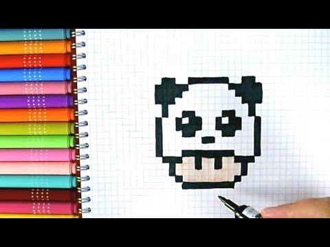"""Résultat de recherche d'images pour """"champignon mario panda pixel art"""""""
