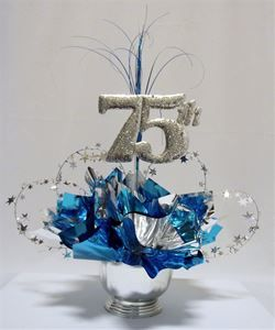 28 best images about diy anniversary centerpieces on for 75th birthday decoration