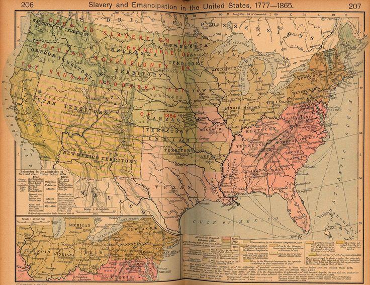 The Best Us Slavery Ideas On Pinterest Slavery In The Us - Us slavery map