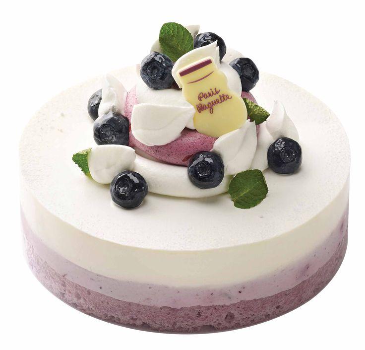Blueberry & Cream Cheese Cake of Paris Baguette, South Korea