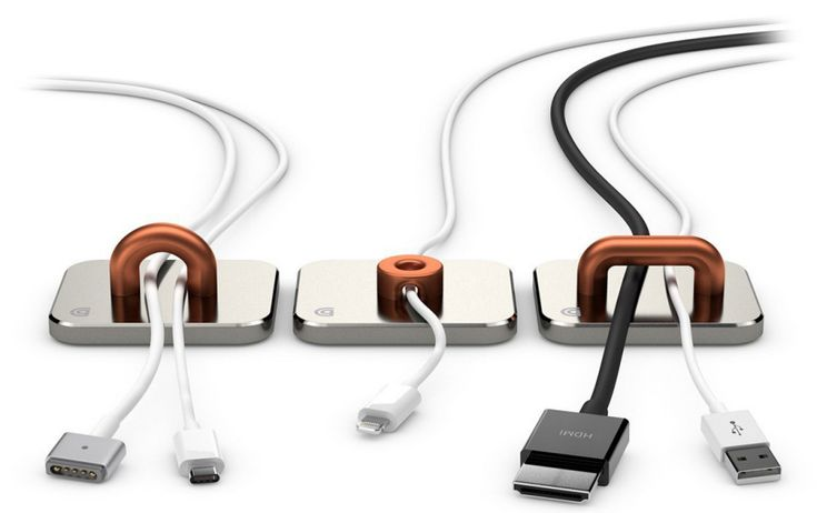 11 Ways to Control Desktop Cables - Core77