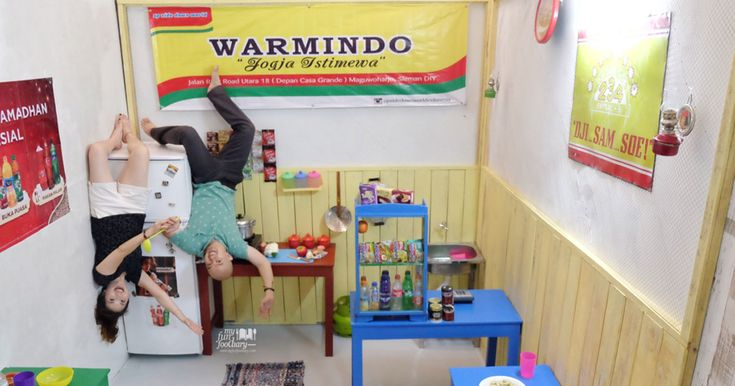 [JOGJA] UpSide Down World Yogya - Creative and Loads of Fun