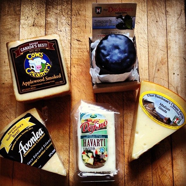 """I'd especially like to try to Gouda and the Havarti. """"Hello gorgeous! Look what I got today? Doesn't get better than this #CDNcheese #simplepleasures"""" - Feistychef"""