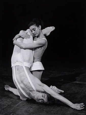 Rudolf Nureyev and Margot Fonteyn in Paradise Lost, England