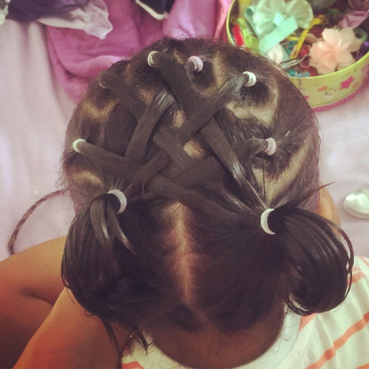 Today's hair do! #ponytails