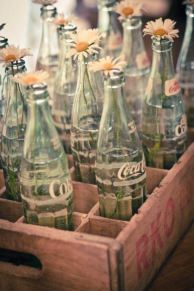 (6) Tumblr Wild Flower, Pop Bottle, Vintage Bottles, Sodas Bottle, Coke Bottle, Daisies, Cocacola, Coca Cola Bottles, Vintage Coca Cola