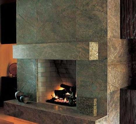 Arizona Tile Fireplace Surround.