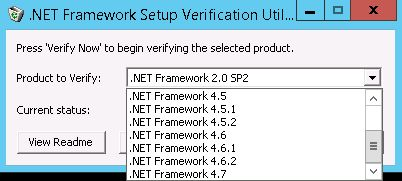 تحميل برنامج .NET Framework Setup Verification Utility 11-21-2017