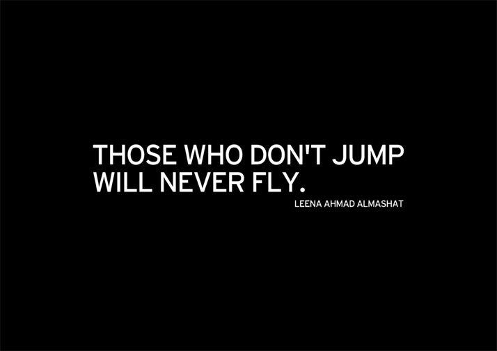 Ceux Qui ne sautent Pas ne volera Jamais | Yatzer