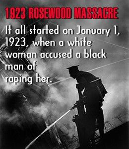 racial issues and violence in the rosewood massacre in the united states Black detainees after a june 1, 1921, race riot in tulsa, okla  gun culture in the  us has gone hand in hand with violent hatred for a long time.