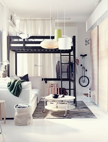 Small Space Bedroom 96 best small spaces, creative living images on pinterest