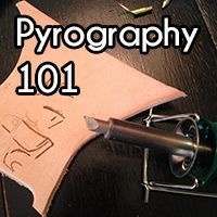 Beginning tips for leather pyrography and the #1 tip to adhere to.