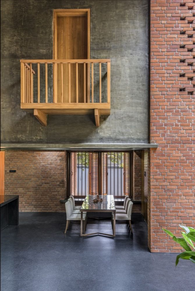 Gallery Of Brick House A For Architecture