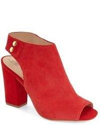 Sandalias de Tacón de Ante Rojas de Schutz: dónde comprar y cómo combinar