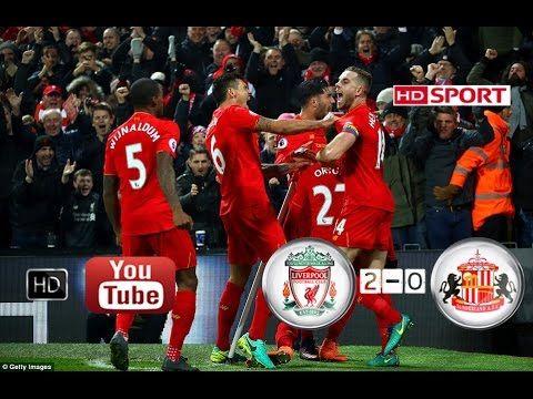 Liverpool 2-0 Sunderland highlights         -          indianbet  free betting help