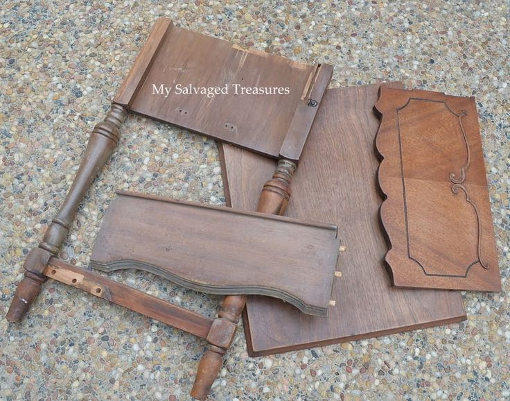 My Salvaged Treasures: A New Life for an Old Sewing Machine Cabinet