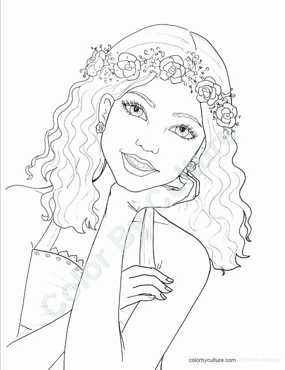Coloring Pages For Tween Girls