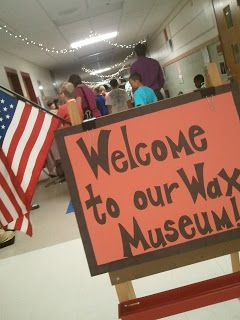 the {ART} of learning: Revolutionary War WAX MUSEUM!