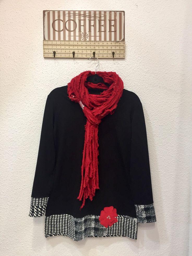 Black gorgeous! #minidress Un favorito personal de mi tienda Etsy https://www.etsy.com/es/listing/257402177/mini-vestido-negro-ropa-mujer-camiseta