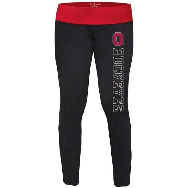 Ohio State Buckeyes Yoga Leggings - Women ($20) ❤ liked on Polyvore featuring leggings
