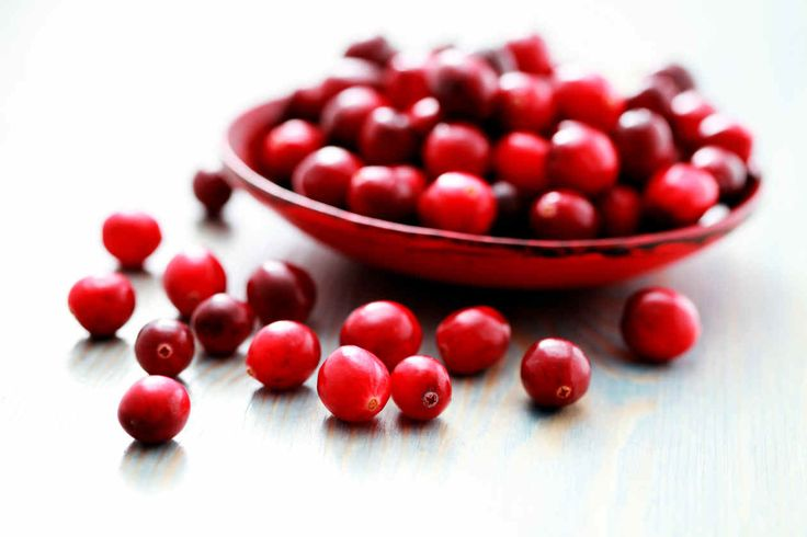 Los arándanos rojos son unas bayas deliciosas, de sabor entre ácido y dulce y conocidas por ser consumidas preferentemente en jugo. Las propiedades del arándano rojo parecen estar relacionadas con su alto contenido en proantocianidinas y otros antioxidantes. Tal vez el beneficio más conocido es la promoción de la