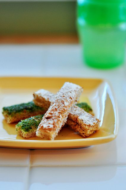 Finger Toast for Baby by seededatthetable #Babies #Finger_Food #Toast