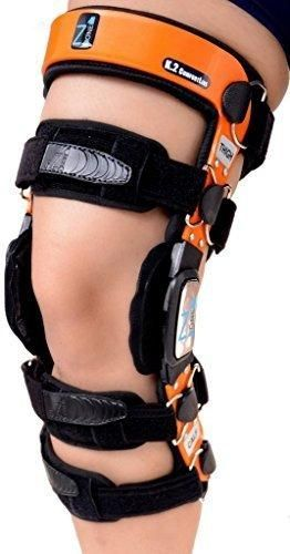 """Braceit K2 ComfortLine Knee Brace (S16(THIGH=23-24.5""""/CALF=15-16.5"""")-Ideal for ACL / Ligament / Sports Injuries Mild Osteoarthritis(OA) & for preventive protection from Knee Joint Pain/Degeneration"""
