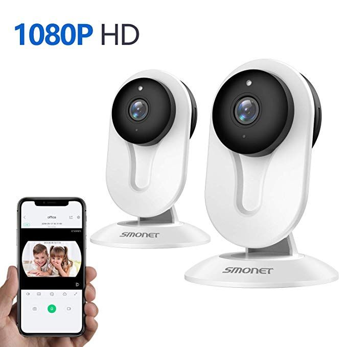 Smonet Ip Security Camera Home Security Camera Wireless With Two