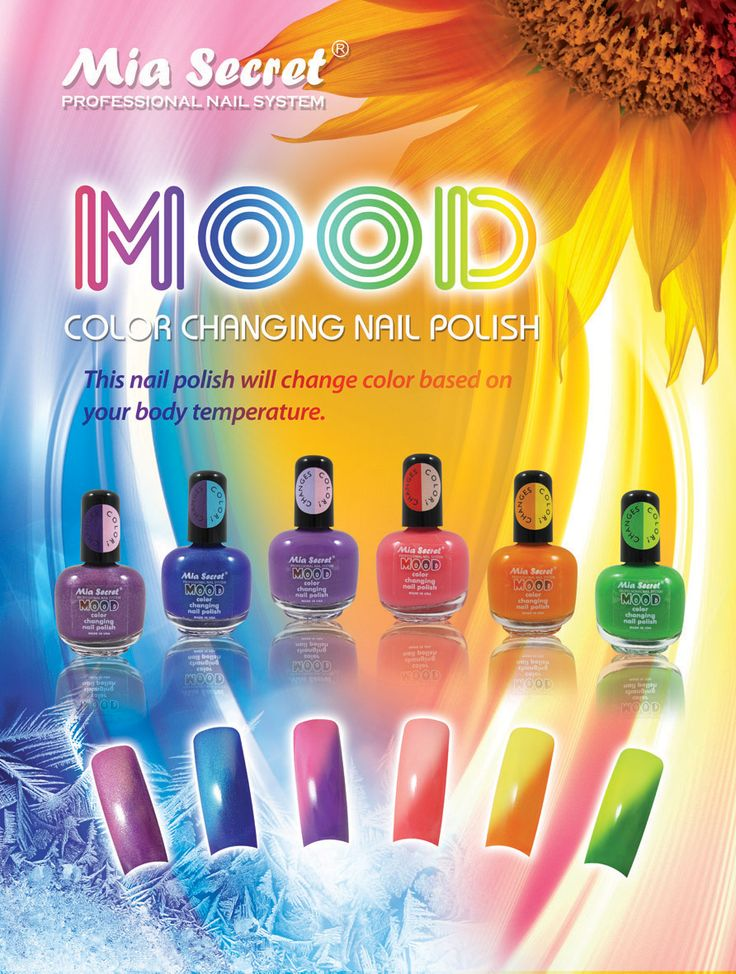 Mood Color Changing Nail Polish By Mia Secret