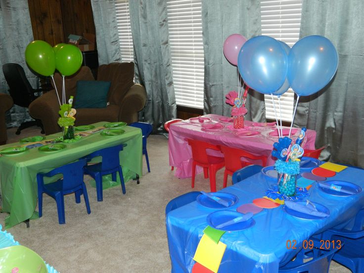 Team Umizoomi Birthday Party Decorations