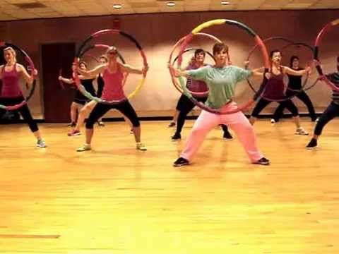 """STEREO LOVE"" Edward Maya ft Vika Jigulina - Weighted Hula Hoop Workout Dance Fitness Valeo - YouTube"