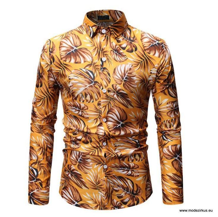 Soopo Herren Kurzarm Hemd Mit Muster In Absolut 7