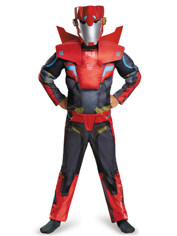 Check out Transformers Boys Sideswipe Classic Costume - Cartoon Characters Boys Costumes from Wholesale Halloween Costumes