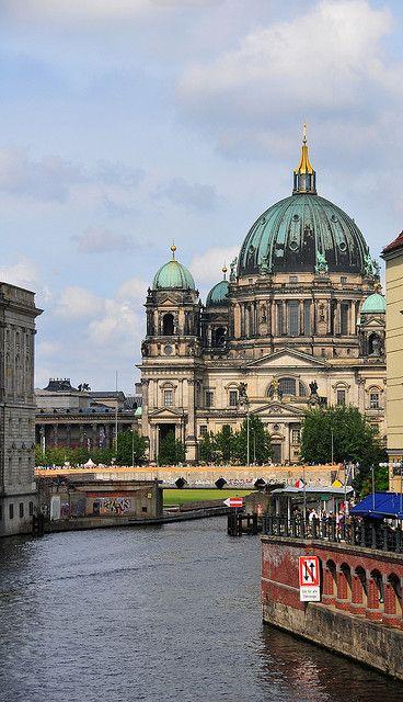Berlin Germany… my favorite building. In person it's breathtaking.